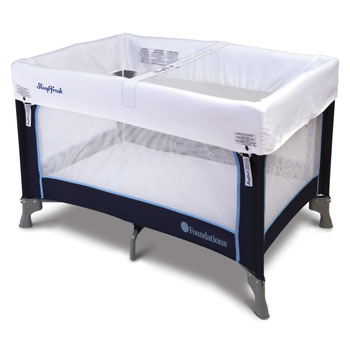 Sleep Fresh Crib Cover and Ribbons for Celebrity Portable Crib