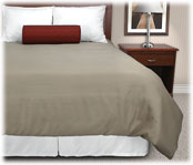 Micro Check Pattern Duvet Covers