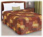 Trevira Quilted Polyester Fitted Style Bedspreads Cornerstone