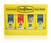 Grab N Go OTC Medication Display; 110pc