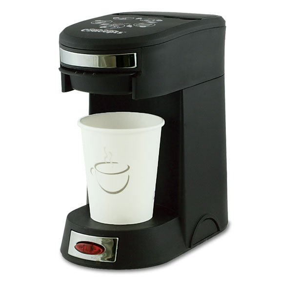 1 Cup Pod Coffee Maker - Black - 8 oz. Capacity