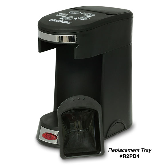 1 Cup Coffee Maker No Pods : - 1 Cup Pod Coffee Maker; Black