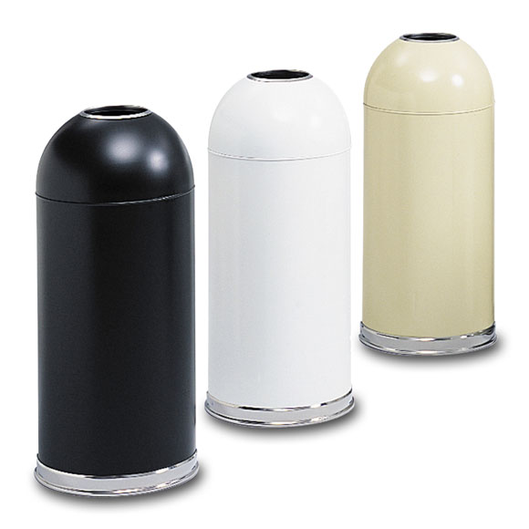 Dome Top w/ Open Top Receptacle