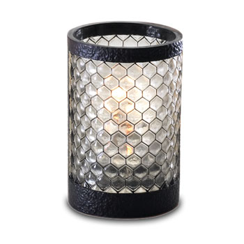 Black Honeycomb Pub Lamp