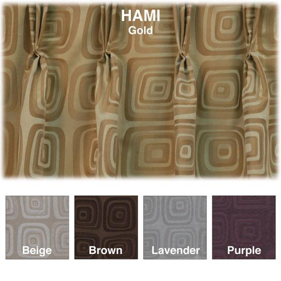 Hotel Boutique Custom Draperies - Hami