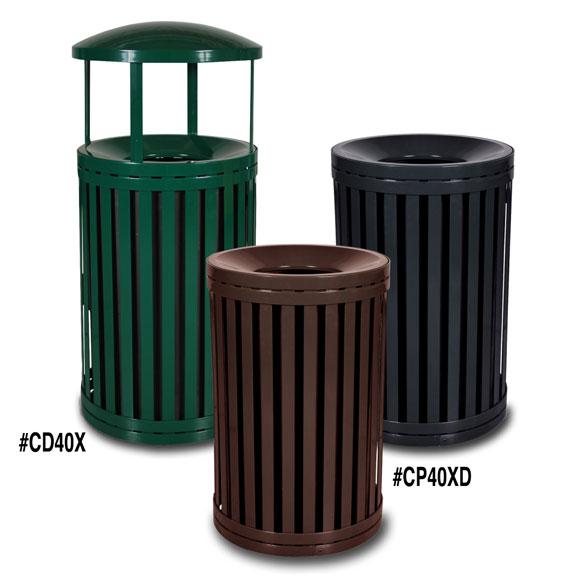 South Hampton Outdoor Trash Receptacle