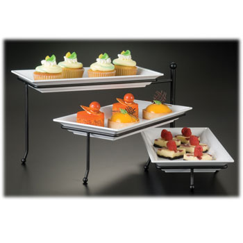 3-Tier Foldable Stand w/ Platters