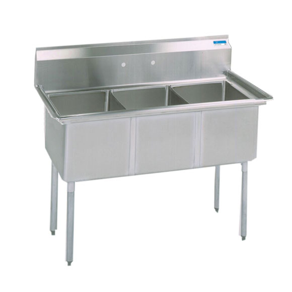 BK 3 Compartment Sinks