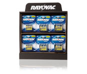 Rayovac Power Hub Counter Display