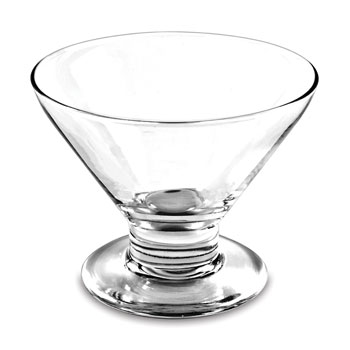 Glass Dessert Bowl; 8 oz.; 2 dz./cs.