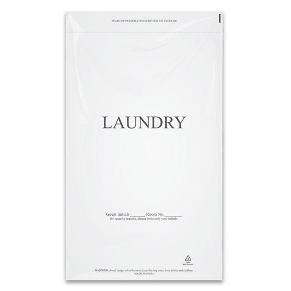 "Plastic Laundry Bags 14"" x 24"" 1000/cs"