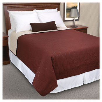 Riverdale Reversible Pinsonic Quilted Coverlets