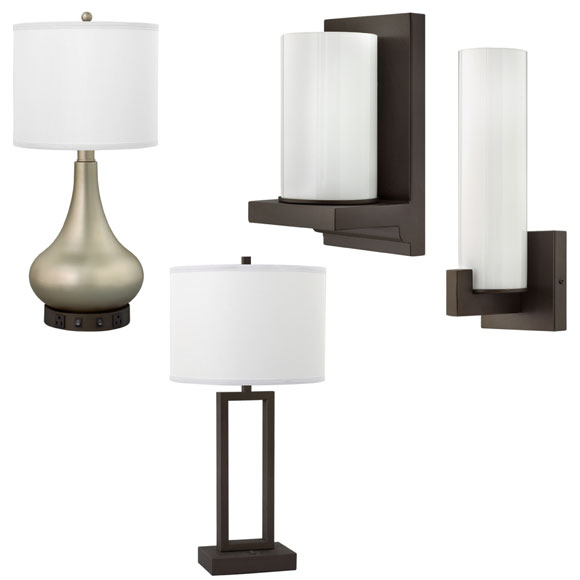 Metallic Bronze Lamp Collection National Hospitality