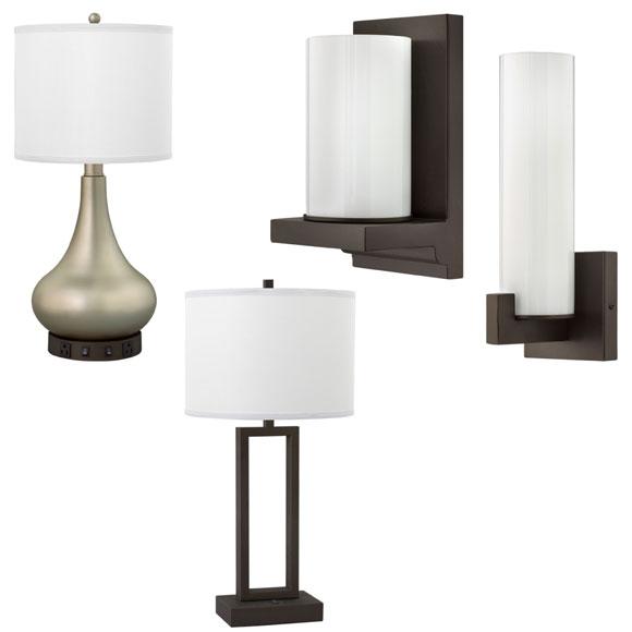 Metallic Bronze Lamp Collection