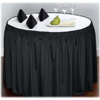 Restaurant Table Skirts National Hospitality Supply