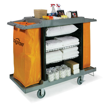 Extra Tall Full-Size Housekeeping Cart