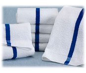 Blue Stripe Pool Towels