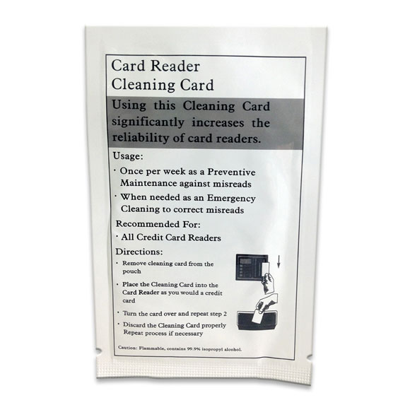 Key Card Lock Cleaner; 50/pk.