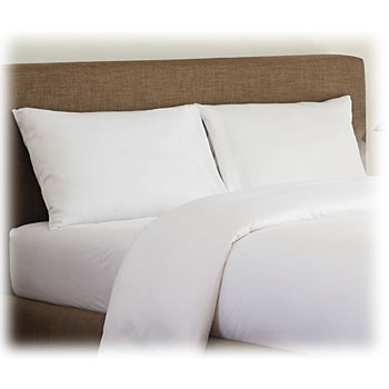 LodgMate 180 ct. White Bed Sheets & Pilllowcases