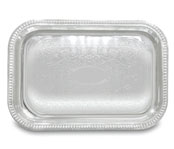 Rectangular Chrome Serving Trays