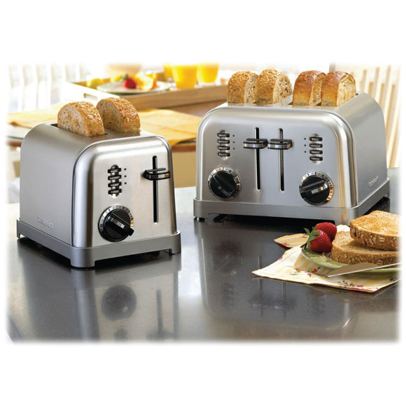Cuisinart Stainless Steel Toasters
