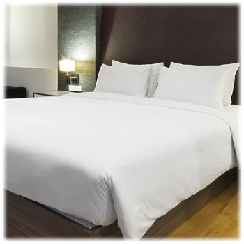 Thomaston Mills 300 Ct. 60/40 White Sheets