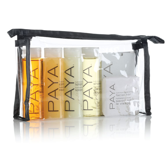 Paya Organics Soaps & Amenities Kit; 50 Kits/cs.