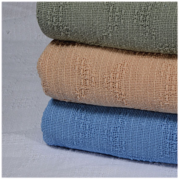 New Bedford Cotton Thermal Blankets