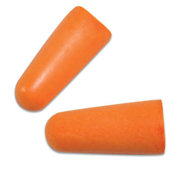 3M Foam Ear Plugs; 200 pairs/bx.