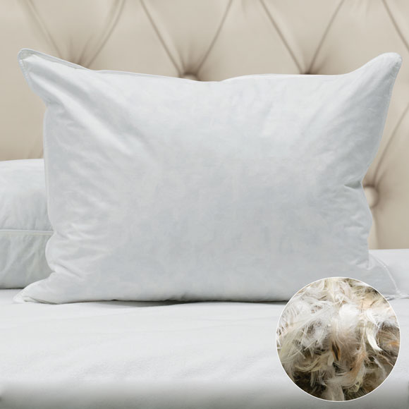 Hotel Duck Feather Fill Pillows