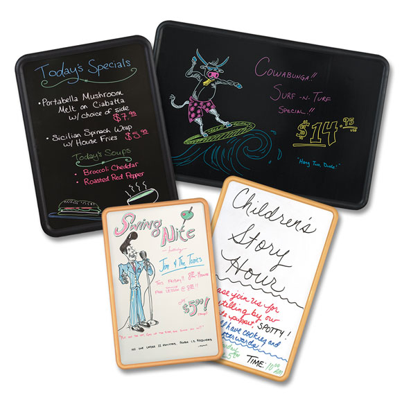 Hi-style Dry Erase & Fluorescent Marker Boards