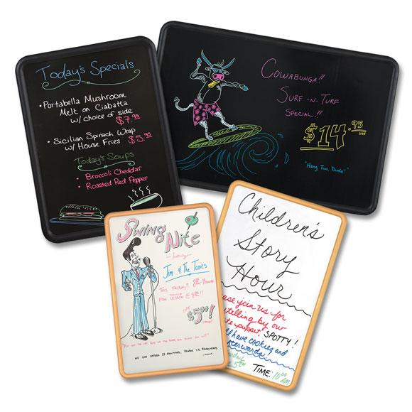 Hi-style Dry Erase & Fluorescent Marker Boards