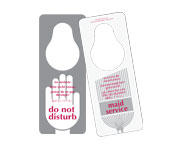 Do Not Disturb/Maid Service 5 Language 100/pk