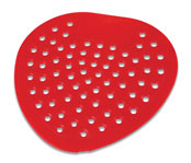 Vinyl Urinal Screen; Cherry; 12/pk.