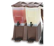 Double Ice Tea/Lemonade Dispenser