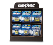 Rayovac Power Hub Counter Display