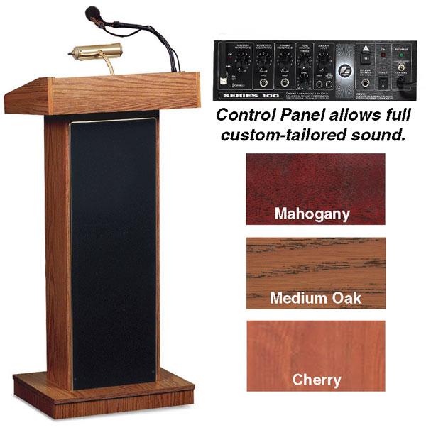 Orator Floor Lectern w/Sound