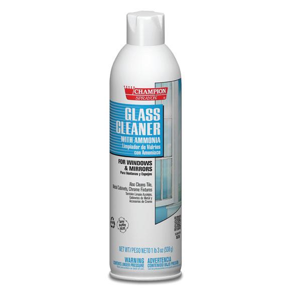 19 oz. Aerosol Glass Cleaner;12/cs.