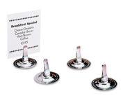 Stainless Menu Holders