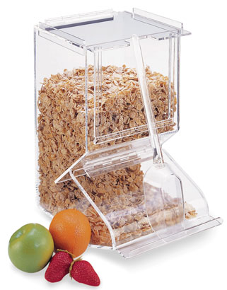 Stackable Bulk Cereal Dispenser