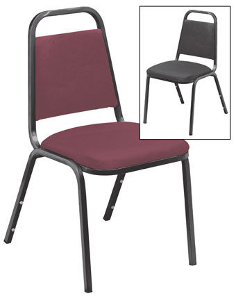 Value Stacker Chair; Vinyl Upholstery