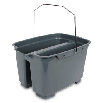 19.55 qt. Divided Bucket - Gray