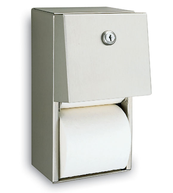 Toilet Tissue Dispenser; Surface Mount