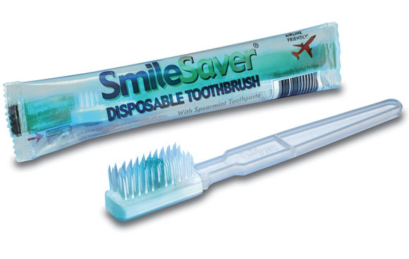 Smile Saver Toothbrush & Paste Combo; 144/cs.