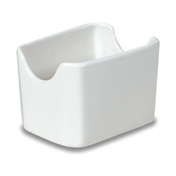 White Sugar Packet Holder; 36/cs.