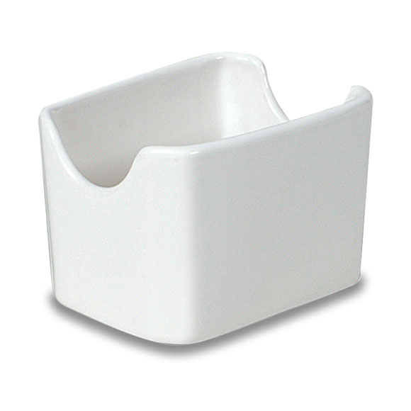 White Sugar Packet Holder; 36/cs.