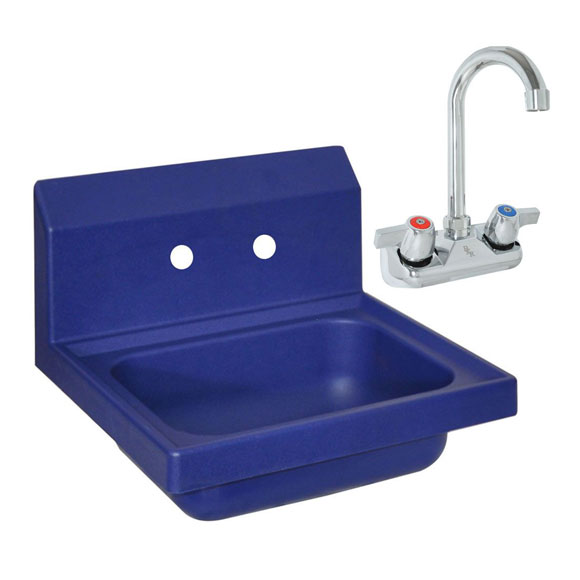 BK Antimicrobial Hand Sink with Faucet