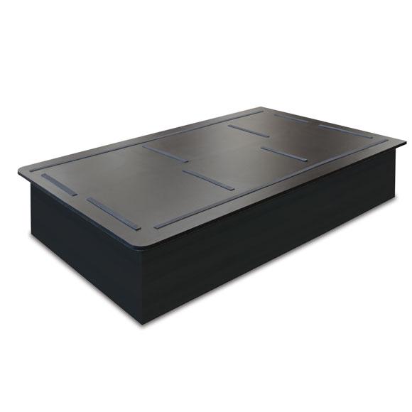 Bertch Platform Bed Bases - Black Finish
