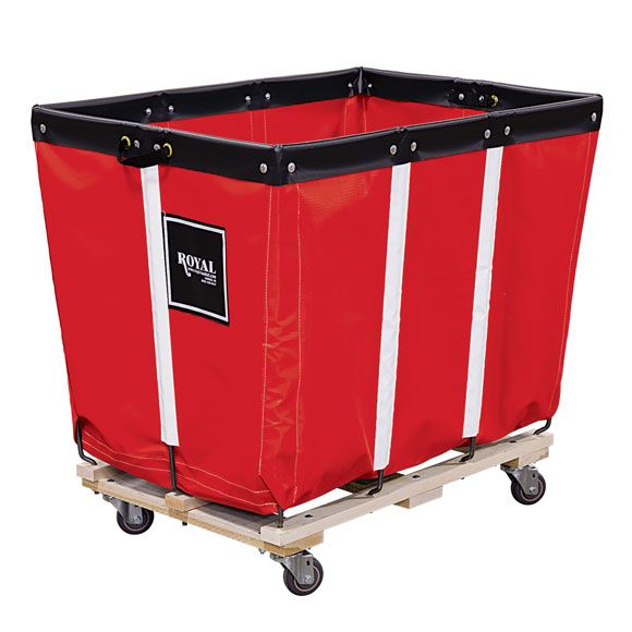 Royal Basket Canvas Or Vinyl Laundry Trucks Laundry Carts