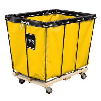Royal Basket Removable Liner Laundry Trucks